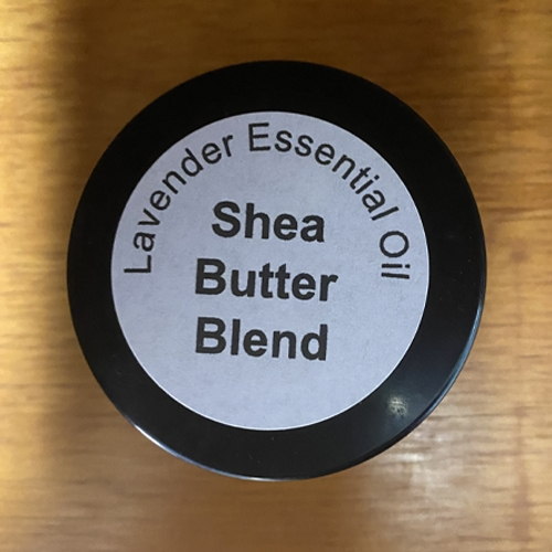 Lavender shea butter lotion